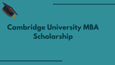 Photo of Cambridge University MBA Scholarship