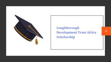 Photo of Loughborough Development Trust Africa Scholarship| Study In UK 2020|100% Fully Funded