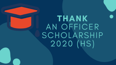 Photo of Thank An Officer Scholarship 2020 (HS)