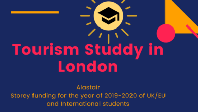 Photo of Alastair Storey funding for the year of 2019-2020 of UK/EU and International students