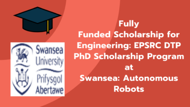 Photo of Fully Funded Scholarship for Engineering: EPSRC DTP Ph.D. Scholarship Program at Swansea: Autonomous Robots