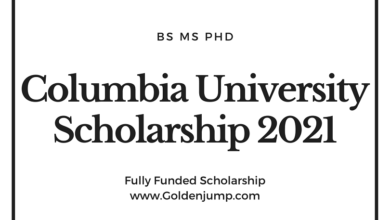 Photo of Columbia University USA Scholarship 2021