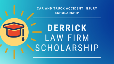 Photo of Derrick Law Firm Scholarship