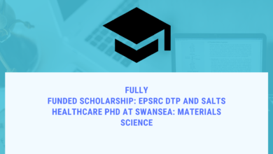 Photo of Fully Funded Scholarship: EPSRC DTP and Salts Healthcare PhD at Swansea: Materials Science
