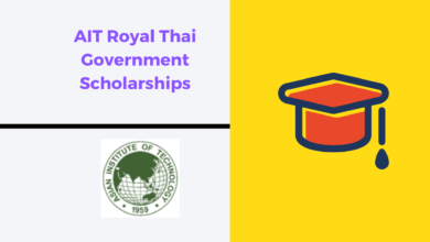 Photo of AIT Royal Thai Government Scholarships