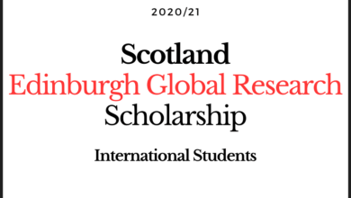 Photo of Edinburgh Global Research Scholarship 2020-2021