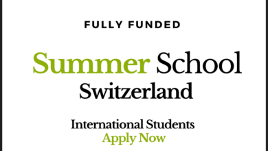 Photo of Fully Funded International Summer School in Switzerland 2020