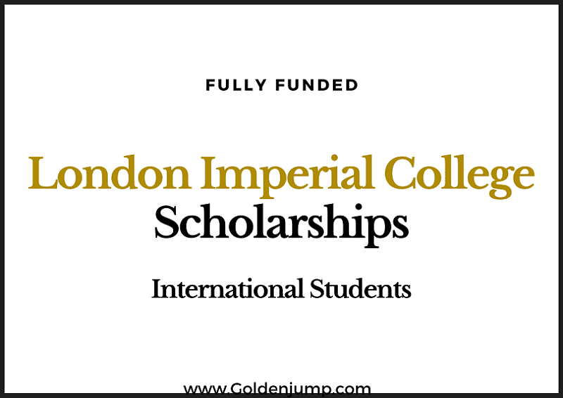 Fully Funded President's PhD Scholarships 2020 London Imperial College-min