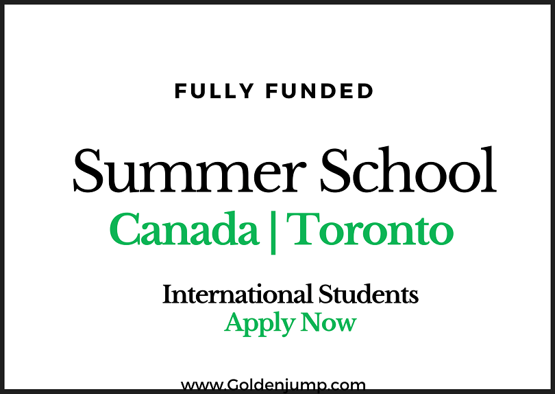 Fully Funded Summer School in Canada 2020 at York University