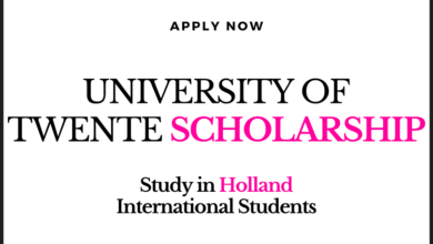 Photo of Holland UNIVERSITY OF TWENTE Scholarship 2021 International Students