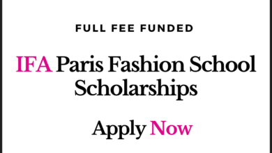 Photo of IFA Paris Fashion School Scholarships 2020 for International Students