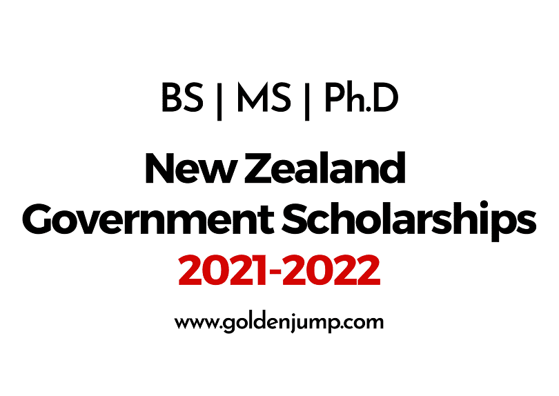 New Zealand Government Scholarships 2021-2022 for International Students