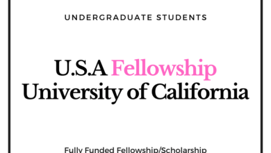 Photo of U.S.A Olive Fellowship 2020 at University of California, Berkeley