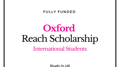 Photo of UK Fully Funded Reach Oxford Scholarship 2020/21