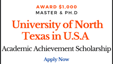 Photo of Academic Achievement Scholarship offered by University of North Texas in U.S.A