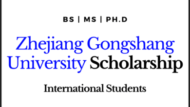 Photo of Chinese Scholarship Zhejiang Gongshang University for International Students