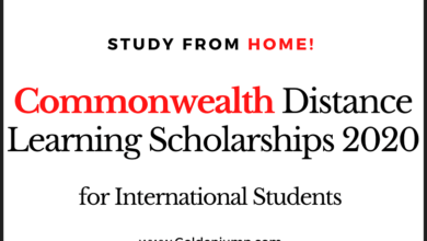 Photo of Commonwealth Distance Learning Scholarships 2020 – Study from Home Country!