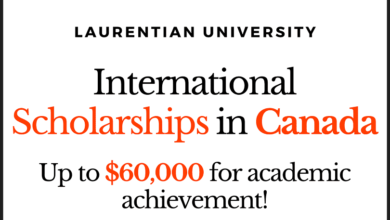 Photo of Excellence Scholarships in Canada 2021 at Laurentian University