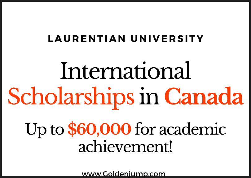 Excellence Scholarships in Canada 2021 at Laurentian University