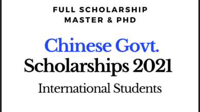 Photo of Fully Funded Chinese Government Scholarships 2021 for International Students