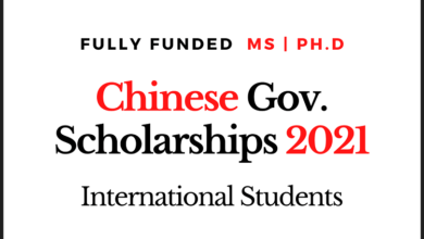 Photo of Fully Funded Chinese Government Scholarships (CGS) 2021 for International Students