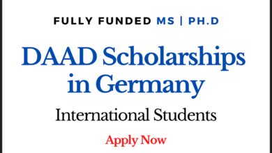 Photo of Fully Funded DAAD Scholarships 2021 in Germany For International Students