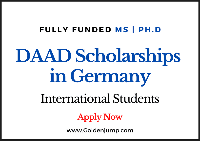 Fully Funded DAAD Scholarships 2021 in Germany For International Students