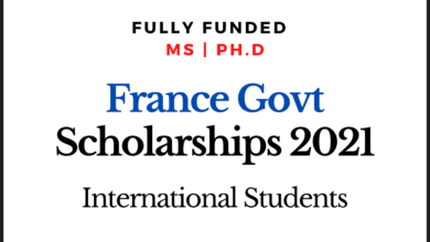 Photo of Fully Funded France Government Scholarships 2020-2021 for Master's and Ph.D.