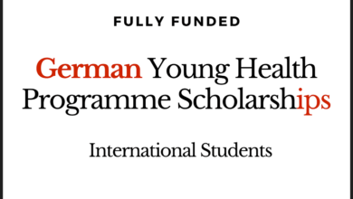 Photo of Fully Funded International The Young Health Programme Scholarship 2020