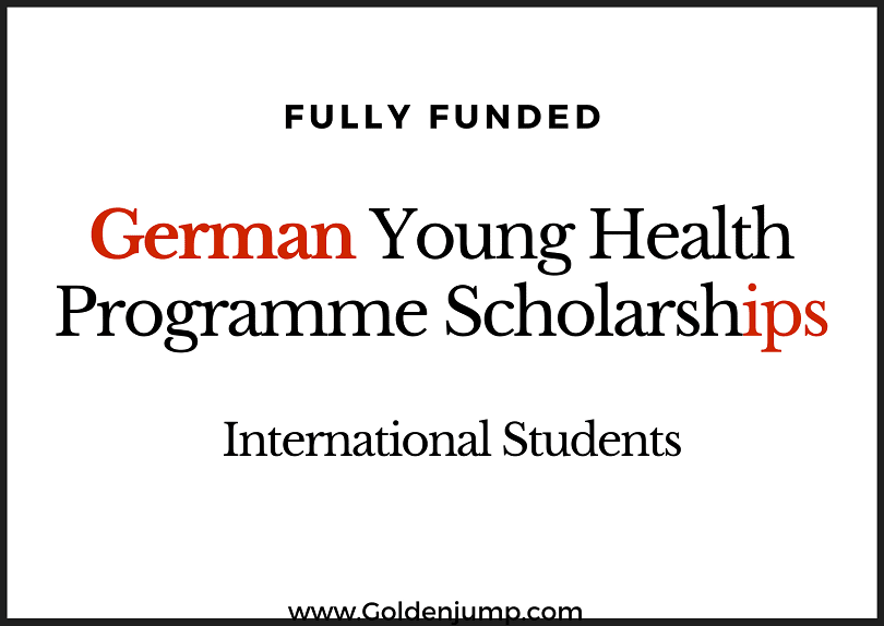 Fully Funded International The Young Health Programme Scholarship 2020