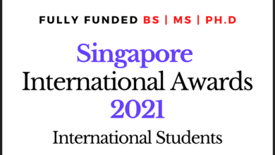 Photo of Fully Funded Singapore International Scholarships BS | MS | PhD – 2021