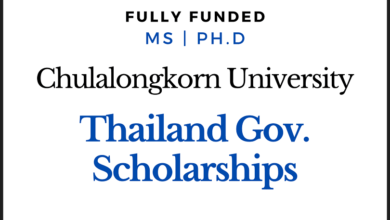 Photo of Fully Funded Thailand Govt Scholarships 2020 Master's and Ph.D