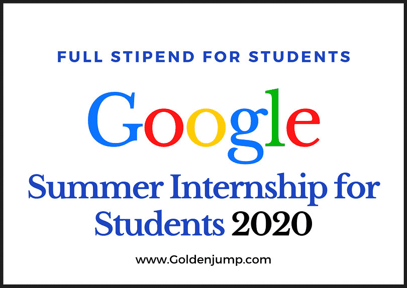 Google Summer of Code Internship 2020 Now Open for Student Applications