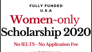Photo of International Scholarship for Women 2021 in U.S.A