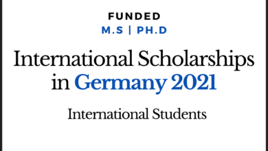 Photo of International Scholarships 2020 for Study and Research in Germany