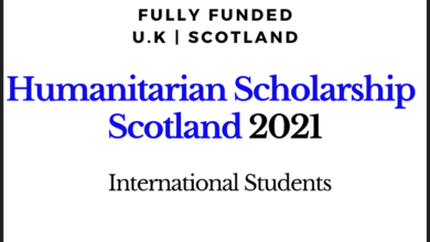 Photo of Scotland Humanitarian Scholarship 2020-2021 for International Students