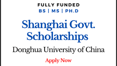 Photo of Shanghai Government Scholarships 2020 for International Students