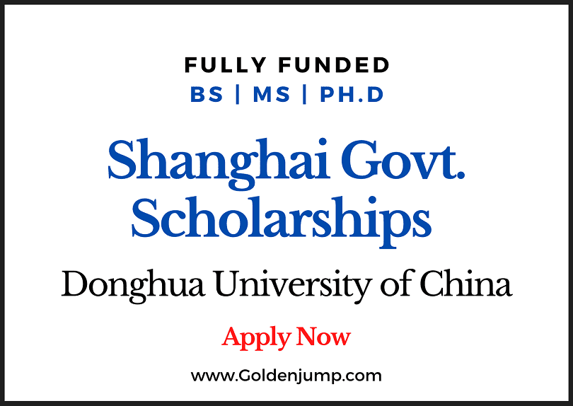 Shanghai Government Scholarships 2020 for International Students