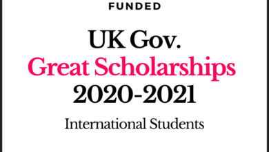 Photo of UK Government's GREAT Scholarship 2020-2021