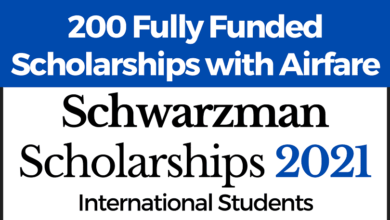 Photo of 200 Fully Funded Schwarzman Scholarships 2020 in China
