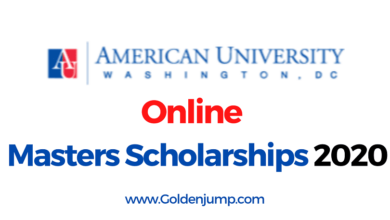 Photo of American University Fully Funded Online Program Scholarships 2020