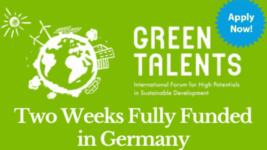 Photo of Fully Funded Green Talents Award In Germany 2020