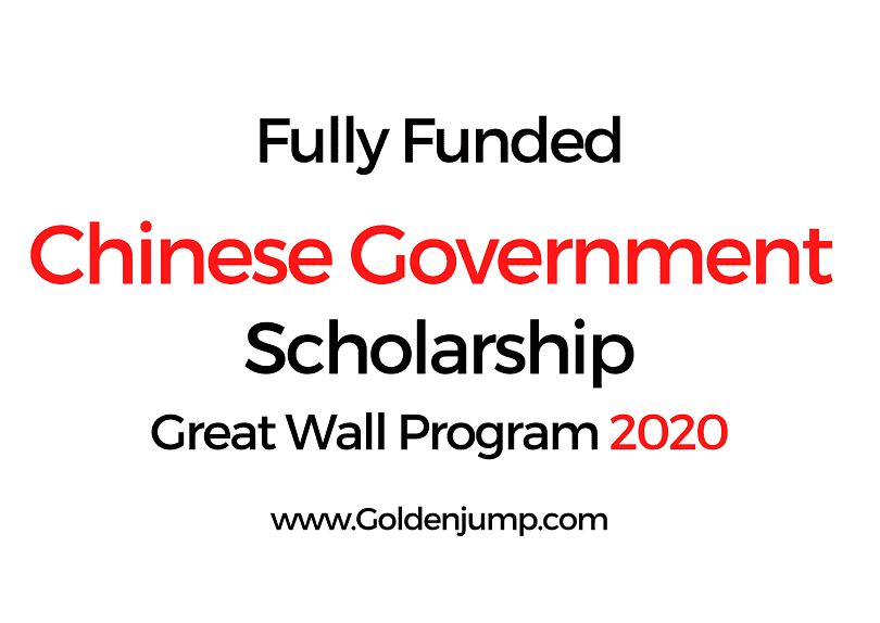 Fully Funded UNESCO Chinese Government Scholarship 2020
