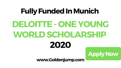 Photo of DELOITTE – ONE YOUNG WORLD SCHOLARSHIP 2020 in Munich