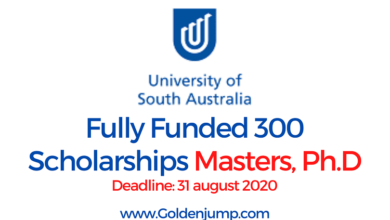 Photo of Fully Funded 300 Scholarships 2021 University of South Australia for International Students