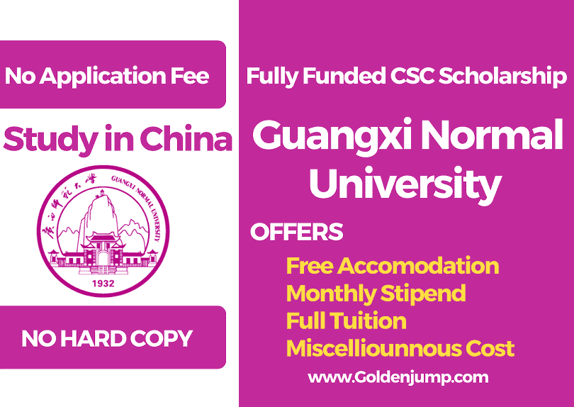 Fully Funded Chinese Government Scholarship CSC 2020 Masters and Ph.D