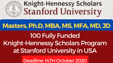 Photo of Fully Funded Stanford University Knight-Hennessy Scholarships 2021 United States