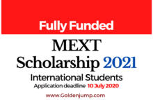 Photo of JAPANESE GOVERNMENT (MEXT) SCHOLARSHIP 2021 for International Students