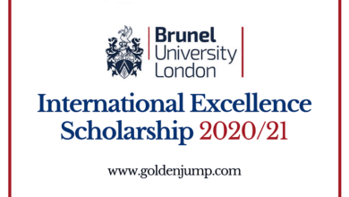 Photo of Brunel University London International Excellence Scholarship 2020/21 for International Students