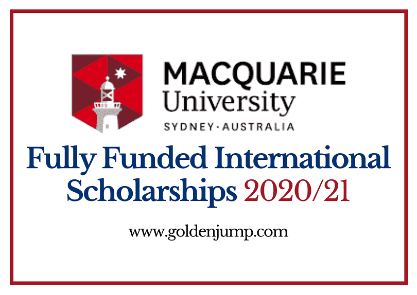 Fully Funded International HDR Main Scholarship 2020 in Australia at Macquarie University